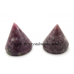 Lepidolite Conical Pyramid