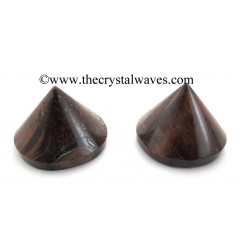 Red Tiger Eye Agate Conical Pyramid