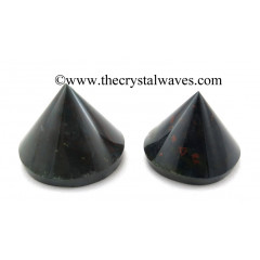 Blood Agate Conical Pyramid