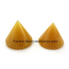 Yellow Aventurine Conical Pyramid