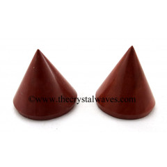 Red Jasper Conical Pyramid