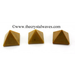Camel Jasper less than 15mm pyramid
