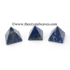Lapis Lazuli less than 15mm pyramid