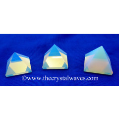 Opalite less than 15mm pyramid