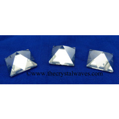 Crystal Quartz AA Grade less than 15mm pyramid