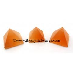 Orange Selenite 23 - 28 mm pyramid