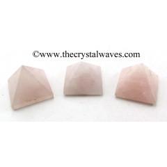Rose Quartz Indian 23 - 28 mm pyramid