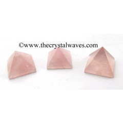 Rose Quartz Brazilian 25 - 35 mm pyramid