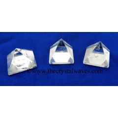 Crystal Quartz AB Grade 25 - 35 mm pyramid