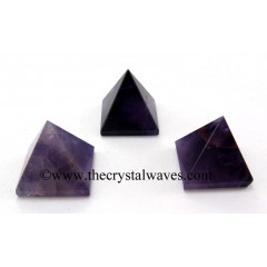 Chevron Amethyst 25 - 35 mm pyramid