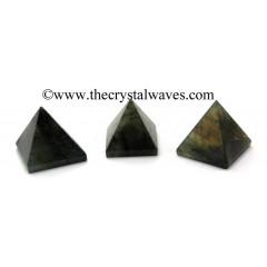Labradorite 55 mm + pyramid