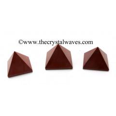 Red Jasper 55 mm + pyramid