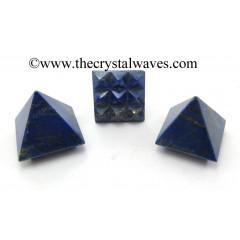 Lapis Lazuli Lemurian Pyramid