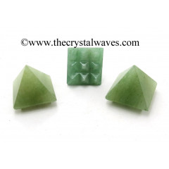 Green Aventurine (Light) Lemurian Pyramid