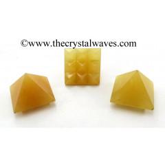 Yellow Aventurine Lemurian Pyramid