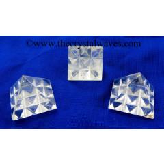 Crystal Quartz AB Grade Lemurian Pyramid