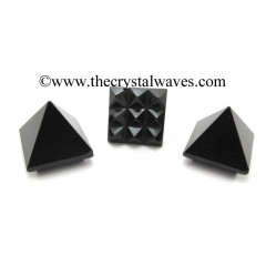 Black Tourmaline Lemurian Pyramid
