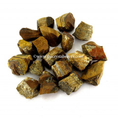 Tiger Eye Agate Raw Chunks