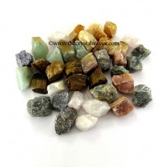 Mix Gemstone Raw Chunks