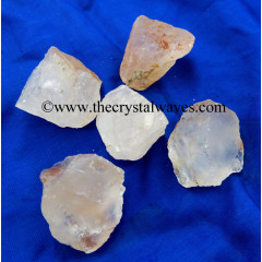 Crystal Quartz B Grade Raw Chunks