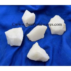 Snow Quartz Raw Chunks