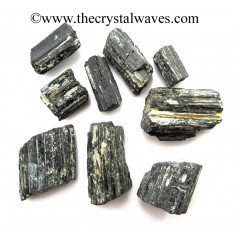 Black Tourmaline Raw Chunks
