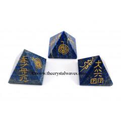 Lapis Lazuli  Usui Reiki Pyramid