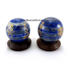 Lapis Lazuli Usui Reiki Ball / Sphere