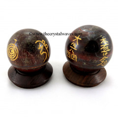 Red Tiger Eye Usui Reiki Ball / Sphere