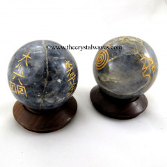 Iolite Usui Reiki Ball / Sphere