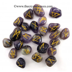 Amethyst Tumbled Rune Sets