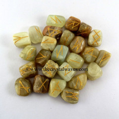 Multi MoonStone Tumbled Rune Sets