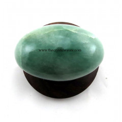 Green Aventurine ( Light) Shivalingam