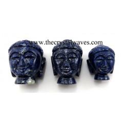 Lapis Lazuli Buddha Head