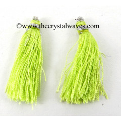 Yellow Green Color Tassels