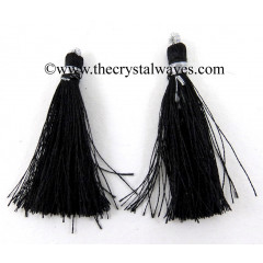 Jet Black Color Tassels