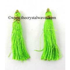 Lime Green Color Tassels