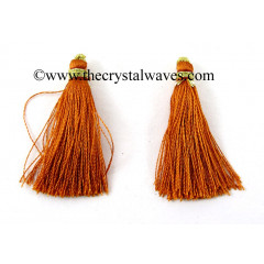 Orange Brown Color Tassels