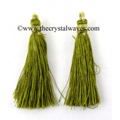 Olive Color Tassels