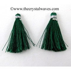 Green Color Tassels