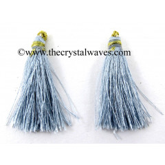 Silver Gray Color Tassels