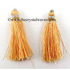 Light Peachy Orange Color Tassels