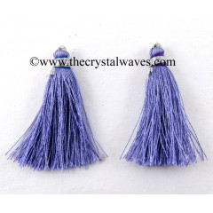 Blue Violet Color Tassels