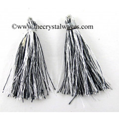 Black & White Color Tassels