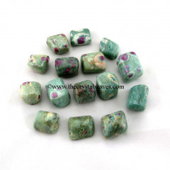 Ruby Zoisite Tumbled Nuggets