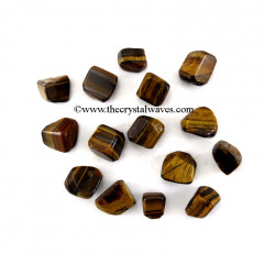 Tiger Eye Agate Tumbled Nuggets