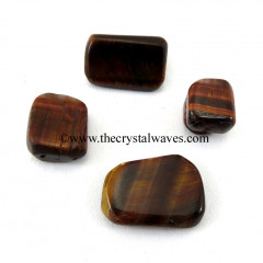 Red Tiger Eye Agate Tumbled Nuggets.