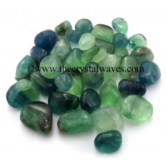 Green Fluorite Tumbled Nuggets