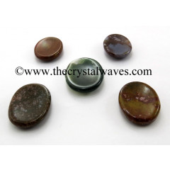 Fancy Jasper Worry Stones / Thumb Stones