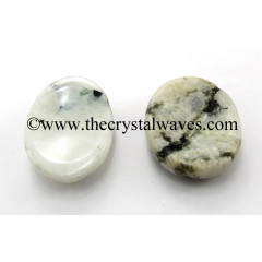 Rainbow Moonstones Worry Stones / Thumb Stones